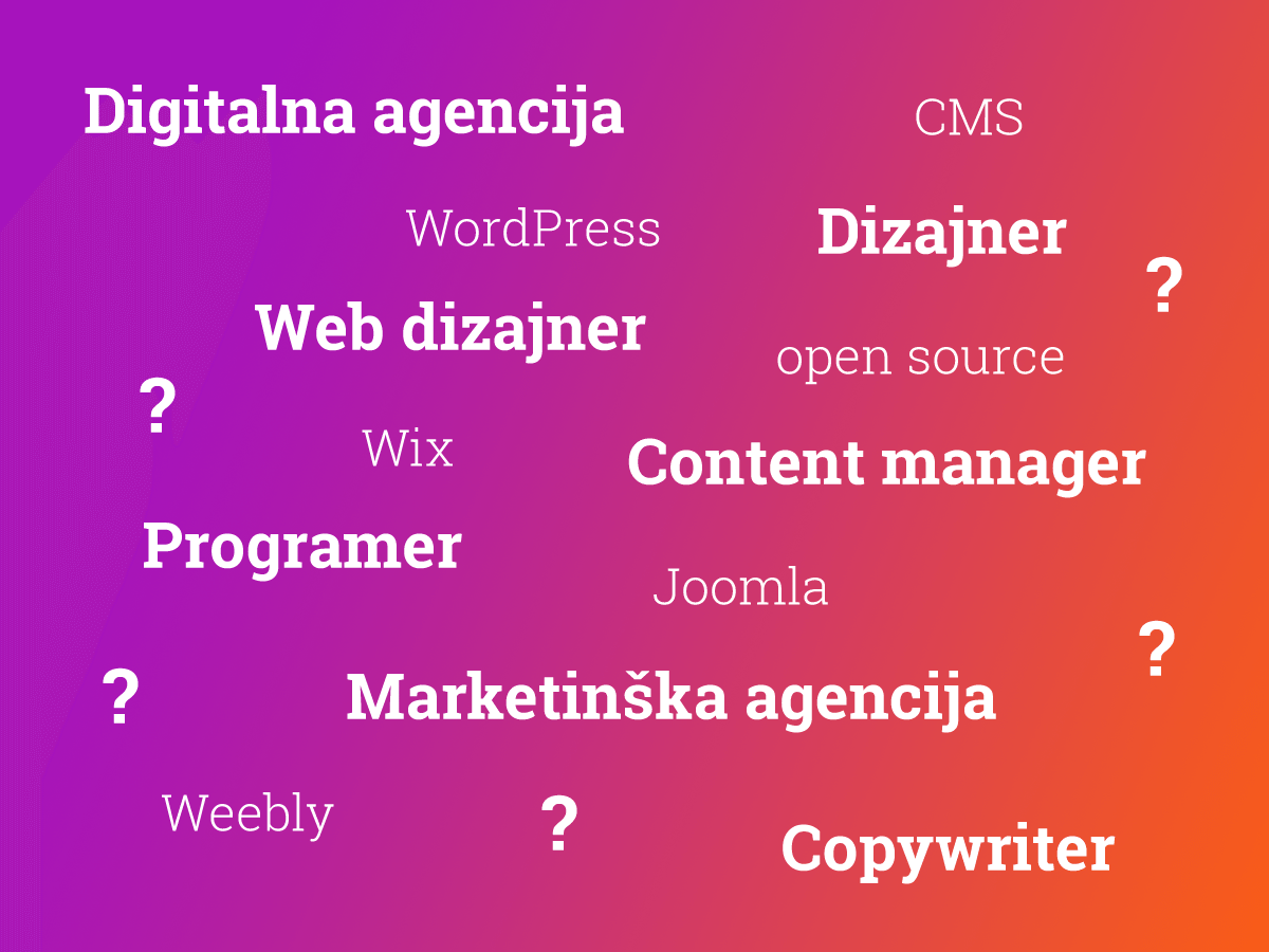 kako odabrati agenciju za web dizajn